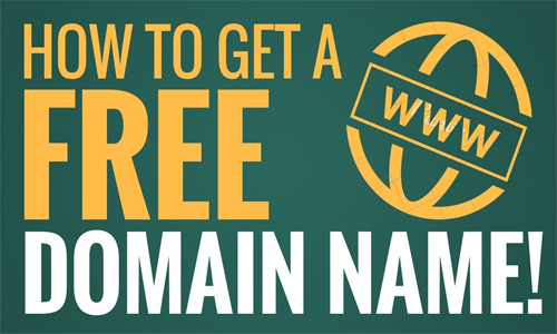 Get Domain Name at Free