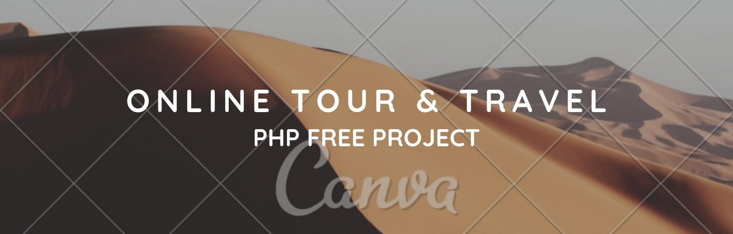 Online Tour Travel Php Free Project